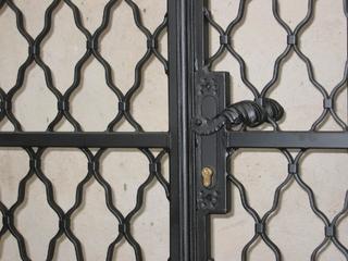 Tor Gitter verzinkt und Lack