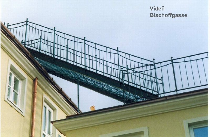Treppenhaus in Wien 2