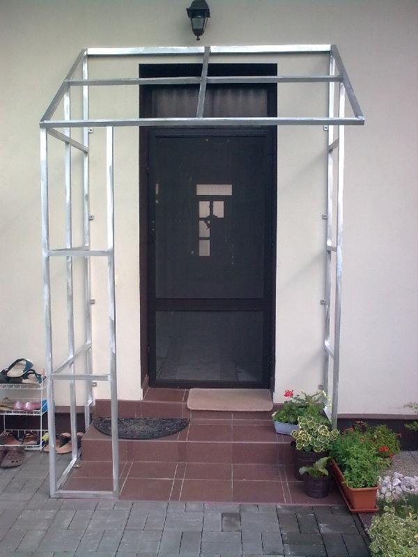 Aluminium Konstruktion für Vordach