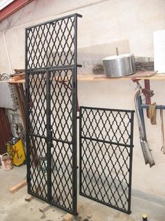 Gitter für Tür