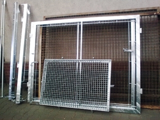 Das Design des Gateway für Gitter, Gitterroste, verzinkt
