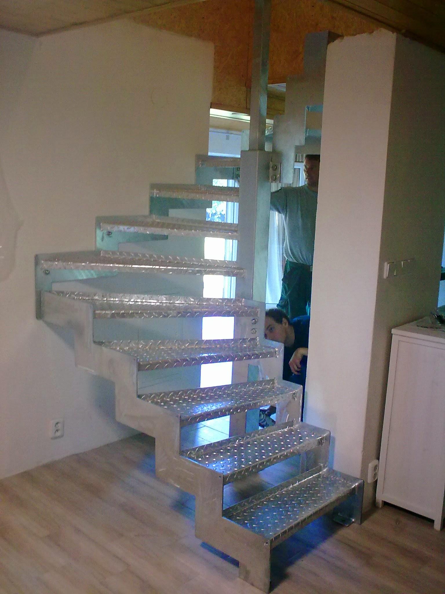 Treppen gekrümmte verzinkt