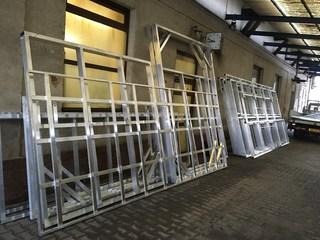Aluminiumkonstruktionen für MDB Kulissen, Salem Hexen