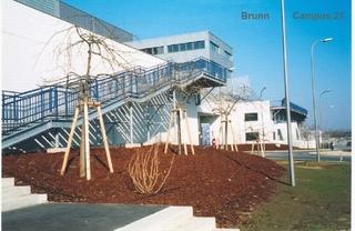 Brunn Campus 21 zábradlí 1