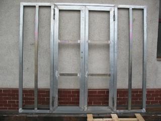 Dveře z profilu Jansen 2