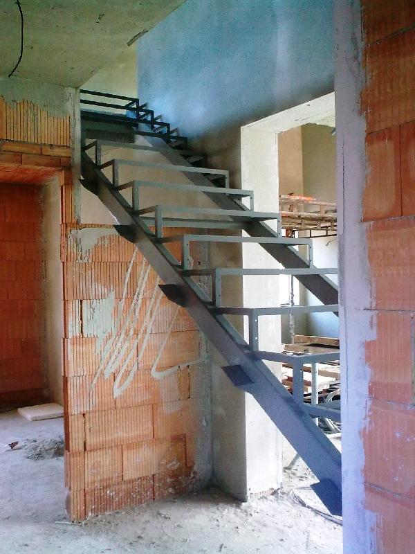 Konstrukce schodů