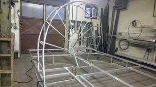 Hliníkové konstrukce pro kulisy pro MDB
