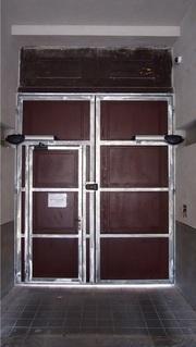 Konstrukce vrat pro dřevo, žárový zinek