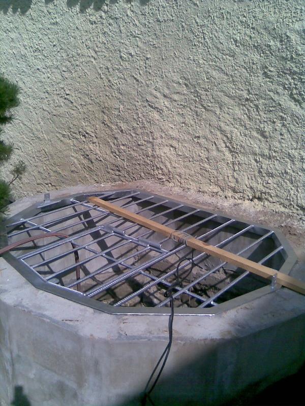 Brunnen Gitter verzinkt