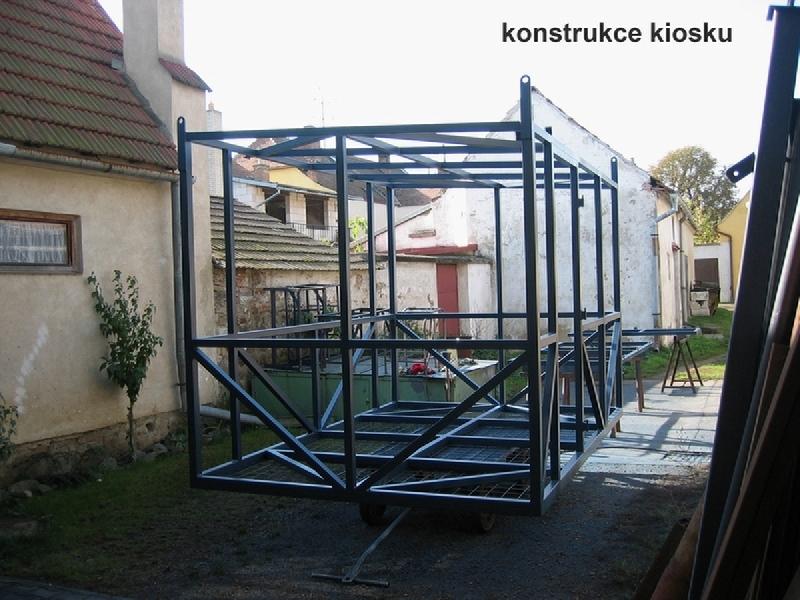 Kiosk-Konstruktion