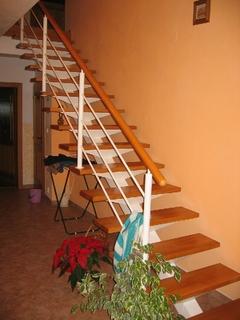 Treppenhaus (ohne das Holz)