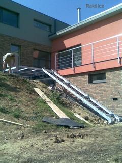 Treppenhaus verzinkt