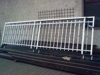 Geländer aus schmiede Profile verzinkt