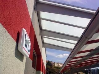Dach Pulver-beschichtung
