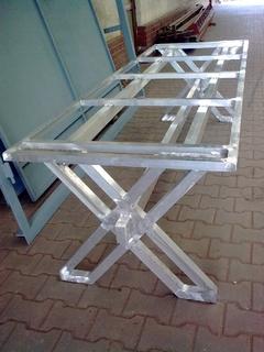 Aluminium Tisch
