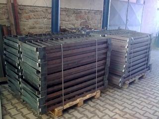 Geländer für verzinkt