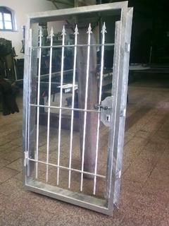 Türrahmen für Tür und Gitter verzinkt