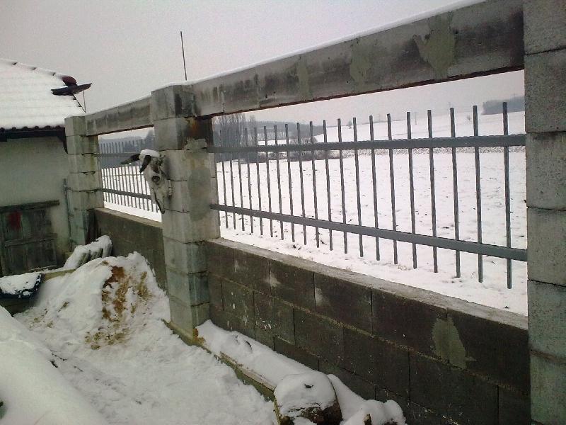 Feld Zaun verzinkt und pulverbeschichtet
