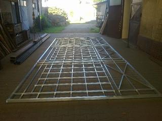 Aluminium-Konstruktion für Theater