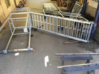 Treppen und Landungen mit Geländern, Verzinken
