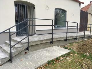 Geländer, Galvanisieren und Farbe ZINOREX Schmied