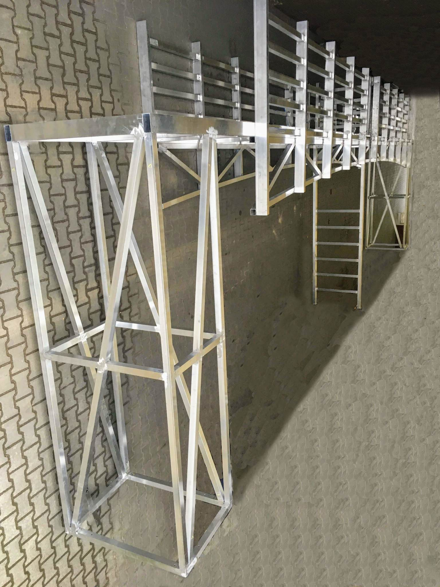 Alu-Brückenkonstruktion für Musical The Last Ship