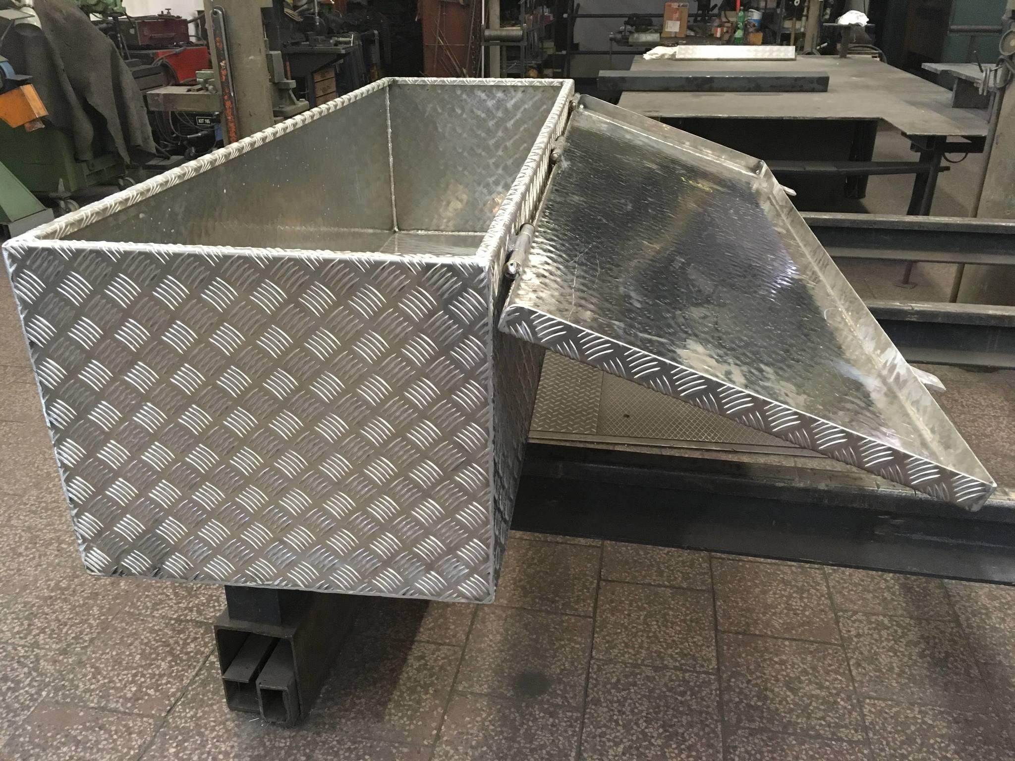 Werkzeugkasten aus Aluminium