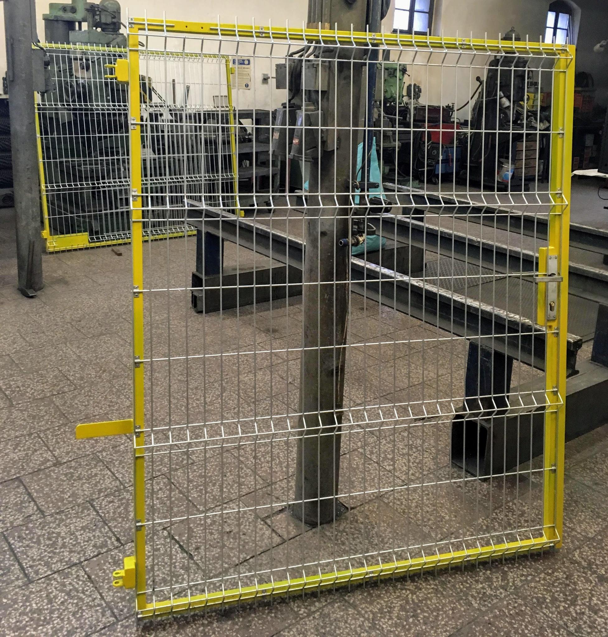 Gate mit 3D-Mesh, Grund- und Spitzenfarbe