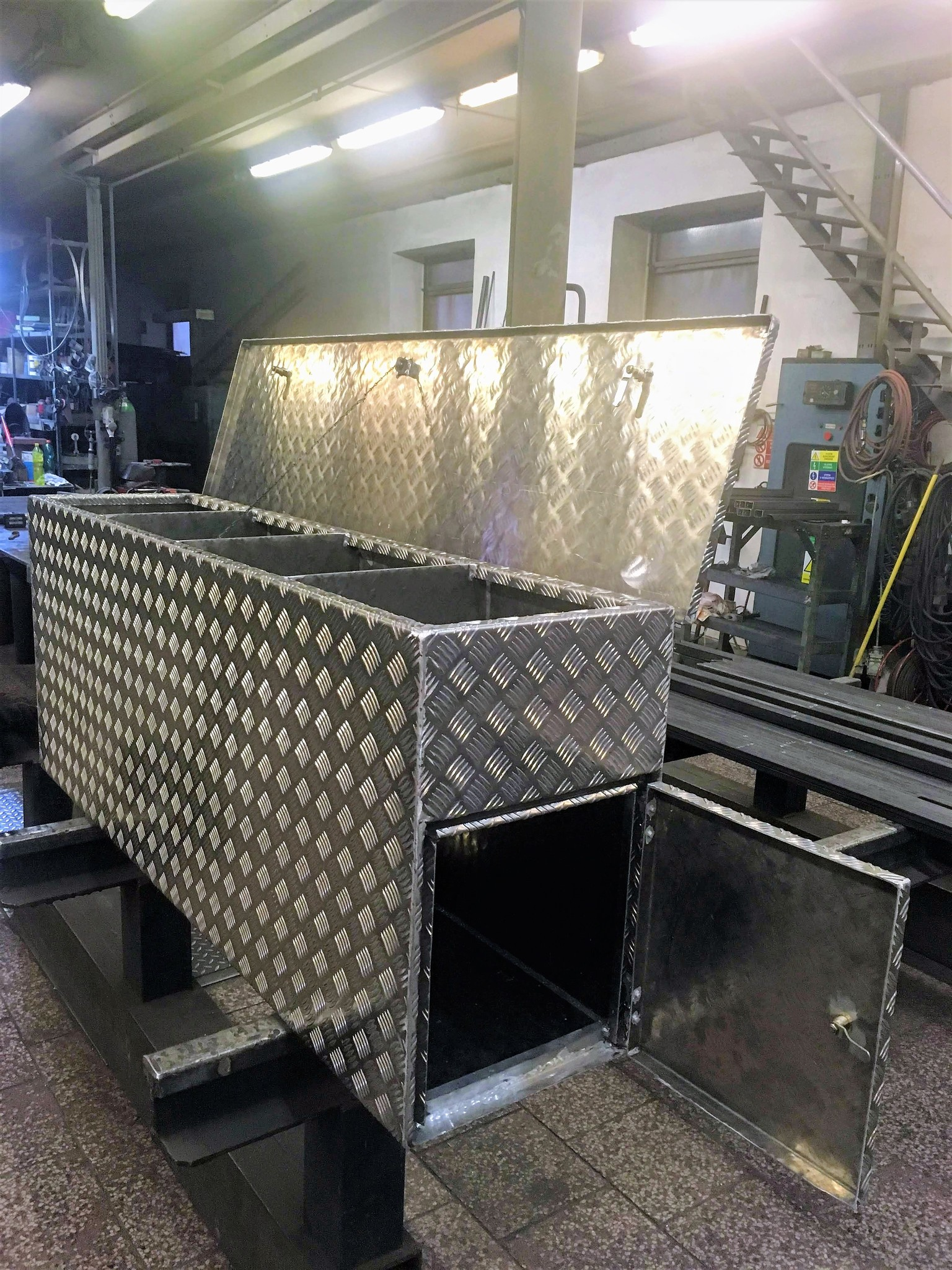 Wasserdichte Aluminiumbox