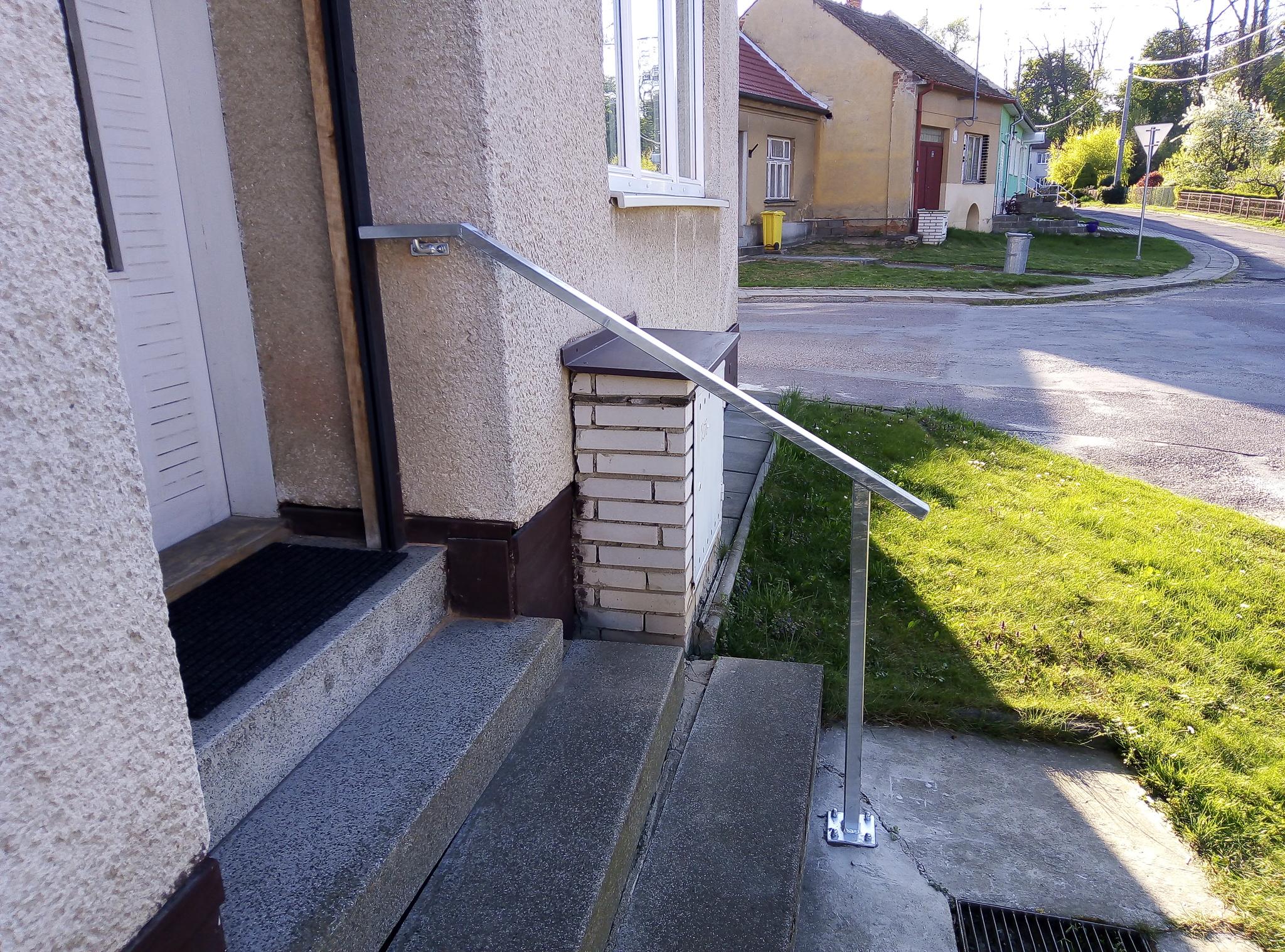 Geländer - Handlauf, verzinkt
