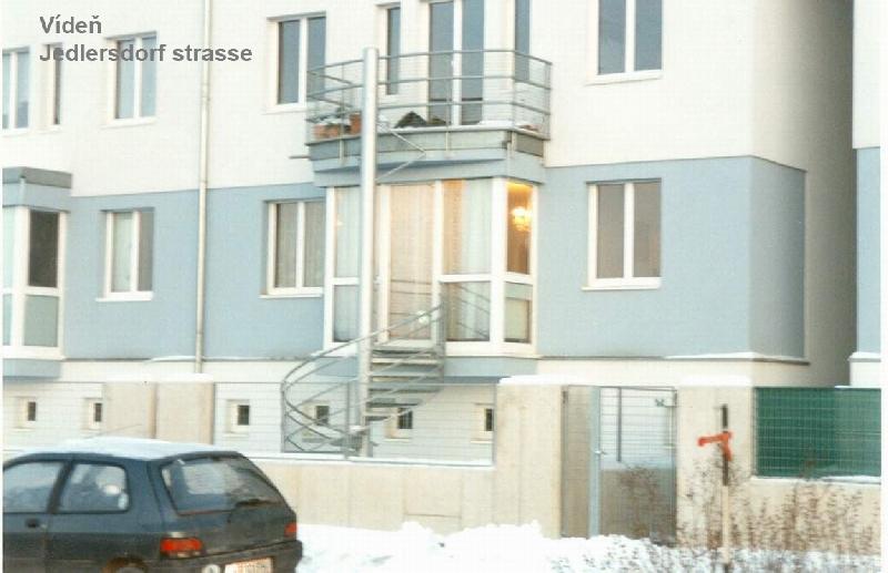 Točené schodiště Jedlersdorf