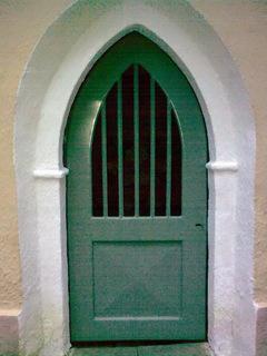 Dveře Mariánská studánka