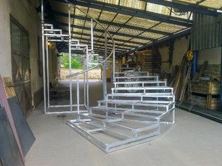 Hliníková konstrukce schodů MDB My Fair Lady