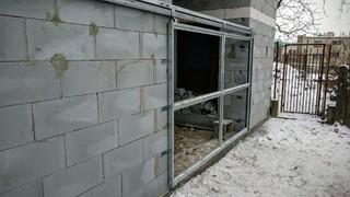 Brána závěsná, žárový zinek