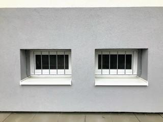 Pozinkované mříže na sklepní okna