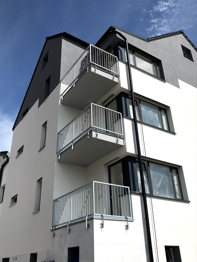 zábradlí balkonové 2, žárový zinek